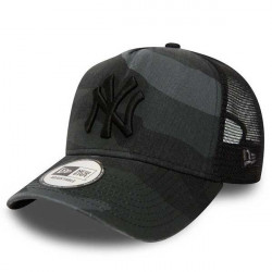 New Era 9Forty A Frame Trucker NY Yankees Washed Camo -