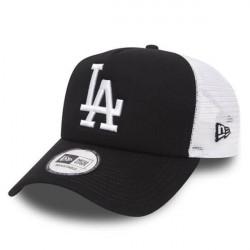 New Era 9Forty Clean Trucker LA Dodgers Black - UNI