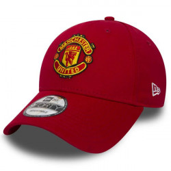 New Era 9Forty Essential Manchester Untd Red - UNI