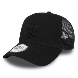 New Era 9Forty MLB A Frame Trucker Cap Essential Jersey NY Yankees Black - UNI