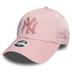 New Era 9Forty Womens NY Yankees Satin Pink - UNI