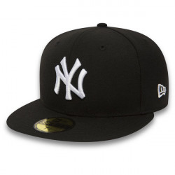 New Era MLB Basic NY Yankees Black White