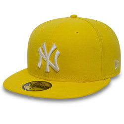 New Era MLB Basic NY Yankees Yellow White
