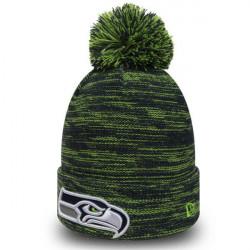 New Era NFL Marl Knit Seattle Seahawks Green - UNI