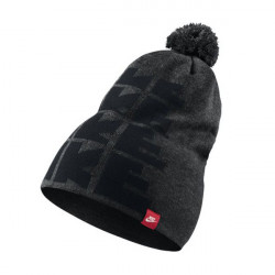 NIKE FUTURA DNA BEANIE ANTHRACITE BLACK RED