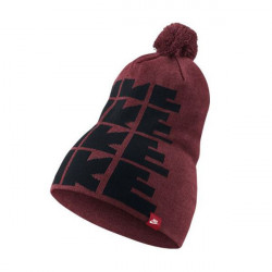 NIKE FUTURA DNA BEANIE BLACK UNIVERSITY RED