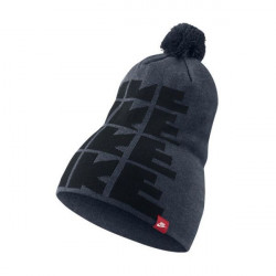 NIKE FUTURA DNA BEANIE OBSIDIAN HEATHER