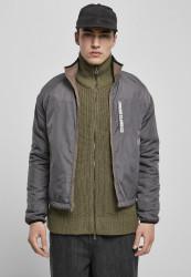Obojstranná pánska bunda URBAN CLASSICS Reversible Polar Fleece