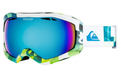 Okuliare Quiksilver Fenom lime green, check atomic