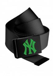 Opasok MSTRDS MLB Premium Black Woven Belt Single kelly