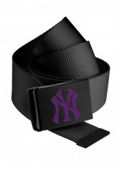 Opasok MSTRDS MLB Premium Black Woven Belt Single purple
