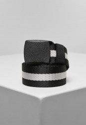 Opasok Urban Classics Centre Stripe Belt black