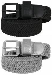 Opasok Urban Classics Elastic Belt Set blk/gry Flexfit: L/XL