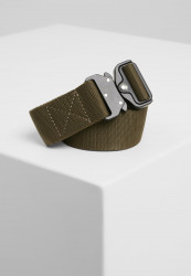 Opasok Urban Classics Wing Buckle Belt olive Flexfit: L/XL