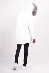Pánska biela bunda na zimu Sixth June Nylon Lining Fur Parka #2