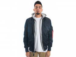 PÁNSKA Bombera Alpha Industries MA-1 D-Tec Rep Blue
