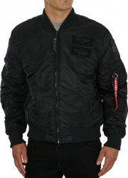 Pánska bombera Alpha Industries MA-1 Pilot Black