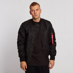 Pánska bombera Alpha Industries MA-1 VF 59 Long Jacket Black