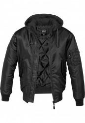 Pánska bombera BRANDIT Hooded MA1 Bomber Jacket Farba: olive/grey, Grösse: XXL #7