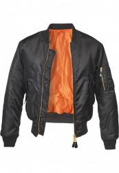 Pánska bombera BRANDIT MA1 Bomber Jacket Farba: bordeaux, #7