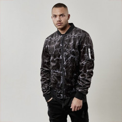 Pánska bombera Cayler & Sons jacket Black Label Judgement Day Bomber black/black - 2XL Size: 2XL