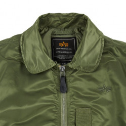 Pánska bunda Alpha Industries B-15 Flight Jacket Sage Green #5