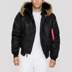 Pánska bunda Alpha Industries Cold Weather Jacket N2B Black