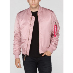 Pánska bunda Alpha Industries MA-1 VF 59 Long Jacket Pink