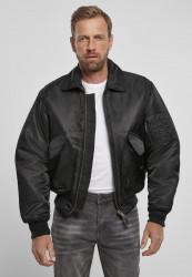 Pánska bunda BRANDIT CWU Jacket Farba: black, Grösse: XXL