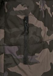 Pánska bunda BRANDIT Jackson Teddyfleece Jacket Farba: black/darkcamo, Grösse: XXL #11