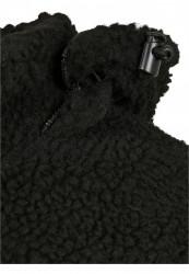Pánska bunda BRANDIT Jackson Teddyfleece Jacket Farba: black/darkcamo, Grösse: XXL #13
