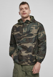 Pánska bunda BRANDIT Summer Pull Over Jacket Farba: swedish camo M90, Grösse: XXL #10