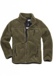 Pánska bunda BRANDIT Teddyfleece Jacket Farba: olive,