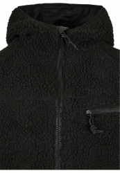 Pánska bunda BRANDIT Teddyfleece Worker Jacket Farba: black, #9