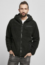 Pánska bunda BRANDIT Teddyfleece Worker Jacket Farba: black,