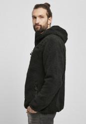 Pánska bunda BRANDIT Teddyfleece Worker Jacket Farba: black, #1
