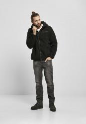 Pánska bunda BRANDIT Teddyfleece Worker Jacket Farba: black, #4