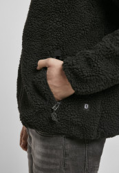 Pánska bunda BRANDIT Teddyfleece Worker Jacket Farba: black, #6