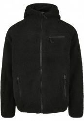 Pánska bunda BRANDIT Teddyfleece Worker Jacket Farba: black, #7