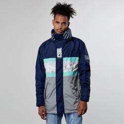Pánska bunda Cayler & Sons jacket Black Label CSBL Decennivm Storm Parker navy Size: XL