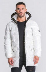 Pánska bunda Gianni Kavanagh GK Glaciar Down Coat white