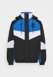 Pánska bunda Karl Kani Padded Block Windrunner Jacket black/blue