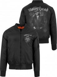 Pánska bunda Merchcode Motörhead Lemmy Bomber Jacket