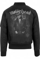 Pánska bunda Merchcode Motörhead Lemmy Bomber Jacket #2