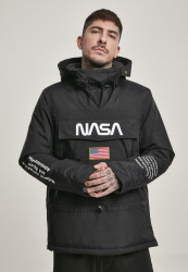 Pánska bunda MR.TEE NASA Windbreaker Farba: cool grey, #1