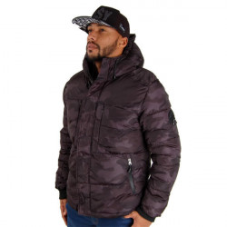 Pánska bunda Southpole Outwear Winter Jacket grey Black