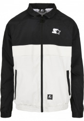 Pánska bunda Starter Jogging Jacket Farba: black/white,