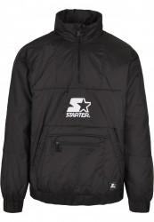 Pánska bunda Starter Logo Windbreaker Farba: black,