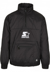 Pánska bunda Starter Logo Windbreaker Farba: black, Grösse: XXL