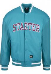 Pánska bunda Starter Team Jacket Farba: lake blue,